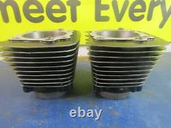 +010 CYLINDERS & PISTONS With RINGS PIN CLIP HARLEY DAVIDSON 1340 B. T EVO 1984-99