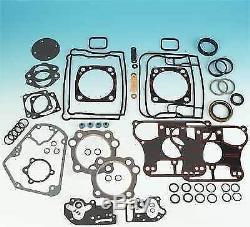 1992-99 Engine Evo Evolution Complete Harley Gasket Kit Softail Dyna