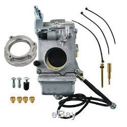 1x Carburetor Rebuild Kit Carb For Smoothbore Harley Davidson Evo Twin Cam HSR45