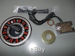 32 Amp Lichtmaschinen Kit Harley Davidson Big Twin 1970-1999 Shovel + Evo