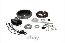 Alternator Charging System Kit 22 Amp for Harley Shovelhead EVO 1970 1998