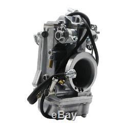 Carburetor 45mm Easy Kit For Mikuni HSR45 Fits Harley EVO Twin Cam EVO