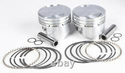 Cast Piston Kit EVO 80CI 9.61 +. 005 KB Pistons KB305.005 For 84-99 Harley