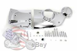Chrome Cam Sprocket Master Cylinder Cover Dress Up Kit Harley EVO Sportster XL