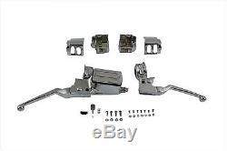 Chrome Handlebar Control Kit fits Harley Davidson flh flt evo 1984-1995 22-1099