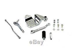 Chrome Shifter Control Kit fits Harley Davidson shovelhead evo FLH FXR 22-1015