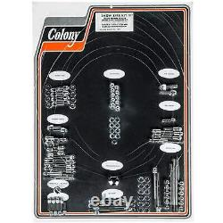 Colony #7917 Complete Show Bike Kit Chrome Acorn Hardware Harley Evo 4 Speed USA