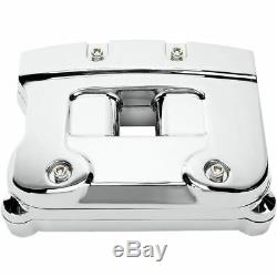 Drag Specialties Chrome Rocker Box Kit for 1984-1991 Harley Evo Big TwinDS-37650