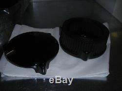 Drag Specialties complete kit air filter case + K&N Harley Davidson EVO 84-89