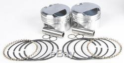 Forged Piston Kit EVO 80CI 10.51 +. 010 KB Pistons KB921C. 010 For 84-99 Harley