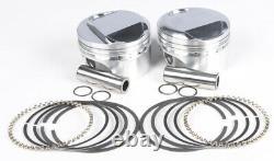 Forged Piston Kit EVO 80CI 10.51 +. 020 KB Pistons KB921C. 020 For 84-99 Harley