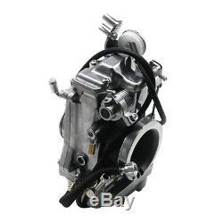 HSR Carb Carburetor 42-18 45 mm Easy Kit for Harley EVO Twin Cam EVO