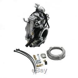 HSR Carb Carburetor 42-18 45 mm Easy Kit for Harley EVO Twin Cam Evo Models