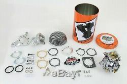 Harley 40mm OKO 1-7/8 Shorty Carb Kit EVO TC FXST FLST FLH V-Twin 35-0970 X1