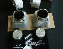 Harley Big Bore 3 5/8 Evo RevTech Zylinder Kolben Kit Wiseco
