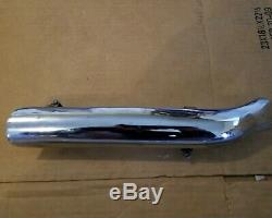 Harley Davidson EVO Header Pipe Kit 5 to 8 inch 2 into 1 Exhaust Pipe CHROME