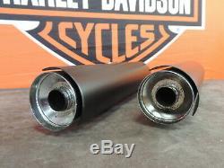 Harley Davidson FXBB Auspuff Exhaust Schalldämpfer Muffler Kit Softail 64900460