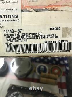 Harley Davidson Screamin Eagle Piston Kit Evolution Evo Xl 1200cc 888/1100xl