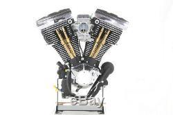 Harley Dyna Softail Evo Pushrod Stößelstangen Cover Kit Titanium 84-99