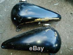 Harley Evo, Softail, Fatbob Tank & New Mounting Kit. Chop Bobber Project