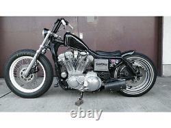 Harley Footpeg Mount Kit Catalytic Nickel Generation EVO Sportster Frisco style