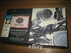 Harley Multi-Fit Mini-Tach Kit Drehzahlmesser FXDWG FLSTC 67946-96a Softail EVO