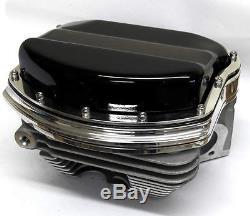 Harley Panhead Rocker Box Cover Kits & Customs Evo, Twin Cam, Black, USA Made