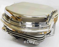 Harley Panhead Rocker Cover Kits & Customs Evo, Xl, Twin Cam, Chrome USA Made