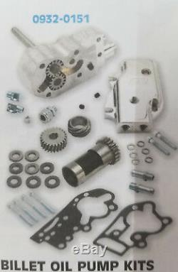 Harley SS Cycle Billet Oil Pump Kit for 92-99 Evo Big Twin Models 0932-0151