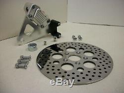Harley Shovelhead Evo FXR GMA Rear Brake Caliper kit /Stainless Rotor FXRS FXRT