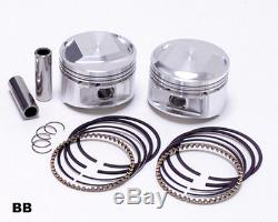 JE Piston Kit DOME 10.51 STD PR Harley Davidson 1985-1999 EVO