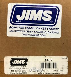 Jims 1432 Case Bore Tool Upgrade Kit, Harley Davidson Evo's'84-'99, New In Box