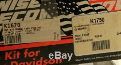 KIT 1438cc WISECO HARLEY DAVIDSON 1340 EVO 1990-96 92.07mm BIG BORE K1750 K1670