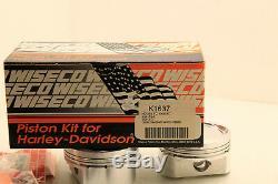Kit 1200cc Wiseco Pour Harley Davidson XL 883 Evo 1986-2018 Ø89.75mm Sportster