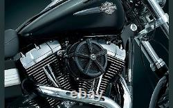 Kit Air Filter Kuryakyn Hi Five Mach 2 Black Harley BT Evo 1993-99