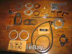 KüryAkyn Dual Carb Plenum Manifold Kit RAM-CHAMBER Dragster Racing Harley EVO