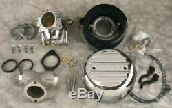 MidWest 42-126 Ultima Chrome R2 Complete Carburetor Kit 1984-1999 Harley EVO