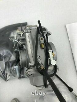 Mikuni HSR42 Smoothbore Carburetor Kit 42-8 For Harley Evo 84-99 Big Twin