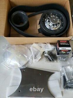 New Belt Drives Ltd EVO-9SF 3in. Belt Drive Kit Harley Softail 1990-up