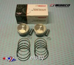 New Wiseco Forged Piston Kit HARLEY DAVIDSON EVO 1340 1985-1999 DOMED 10.01