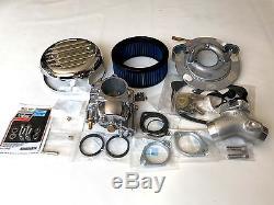 Orig. ULTIMA R2 VERGASER-KIT Luftfilter S&S Super E Ersatz Harley-Davidson EVO