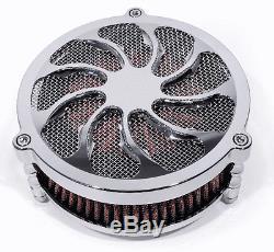 Performance Torque Air Filter Kit For Harley-Davidson Chrome HD Big Twin Cam Evo