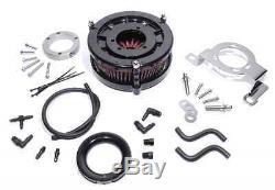 Performance Torque Luftfilter Kit für Harley-Davidson Big Twin Cam EVO schwarz