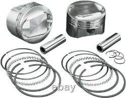Piston kit. 010 evo bt HARLEY DAVIDSON GLIDE CLASSIC SOFTAIL ELECTRA LOW