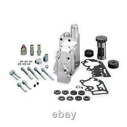 Polished Billet Oil Pump Kit withStd. Cover Evo Softail Dyna Ultra Harley-31-6206