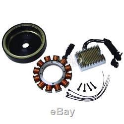 Quality Harley S&s Evo Shovel 70-99 Motor 32 Amp H/d Alternator Charging Kit