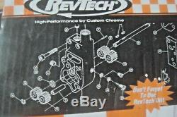 RevTech CCI 20-275 polished oil pump kit Fits Harley Shovelhead EVO 73-91 X6