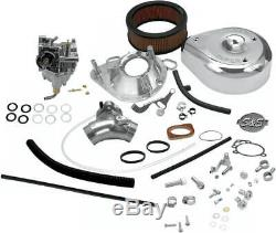 S&S Cycle 11-0419 Super E Shorty Carburetor Kit Complete Harley 93-'99 Evo BT