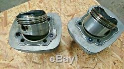 S&S Evo stroker piston and cylinder kit 1340 Harley