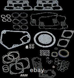 S&S Gasket Kit, Engine, V-Series, 4-1/8, Harley-Davidson EVO Big Twin 1984-1999
